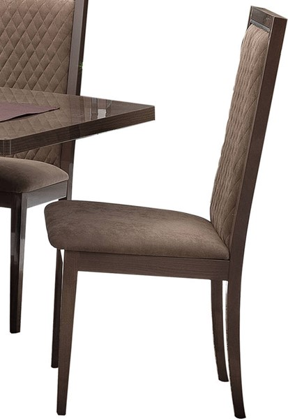 2 ESF Camelgroup Italy Platinum Shiny Chairs ESF-i17702