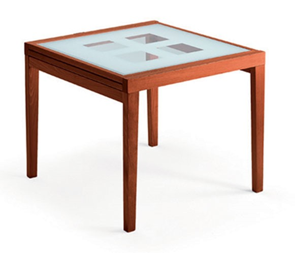 ESF European Poker Cherry 90 Dining Table ESF-i635