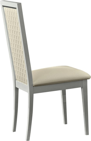 2 ESF Camelgroup Italy Roma White Dining Chairs ESF-i10483