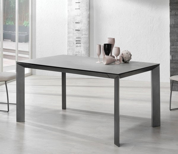 ESF Nacher Spain Seven Gray Extension Dining Table ESF-i22172