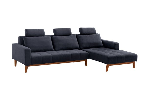 ESF Extravaganza Summer Dark Blue Right Sectional ESF-i21836