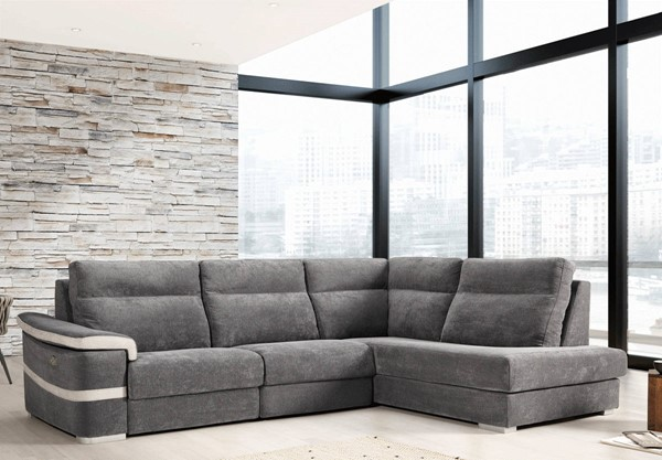ESF Vizcaino Spain Viral Grey Right Sectional ESF-i22301