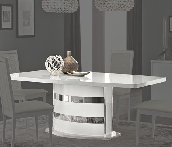 ESF Camelgroup Italy Roma White Dining Table ESF-i10482