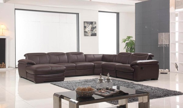 ESF FLR Modern Living 2146 Left Facing Reclining Sectional ESF-i10687