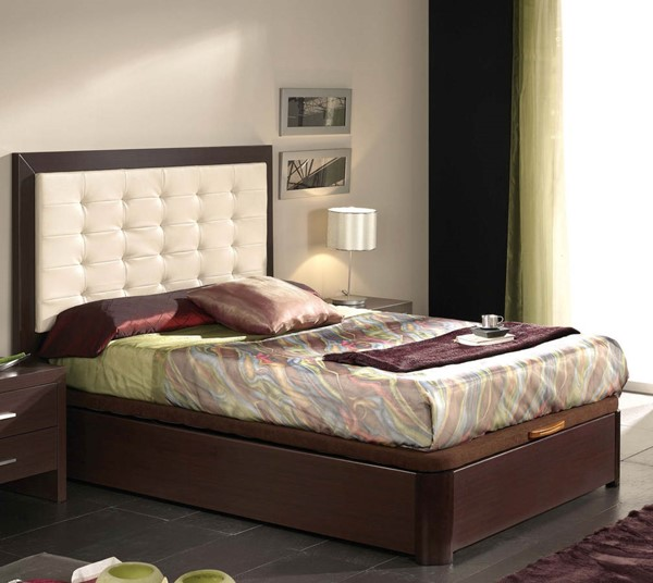 ESF Dupen Spain Alicante Wenge 515 Queen Platform Bed ESF-i11265