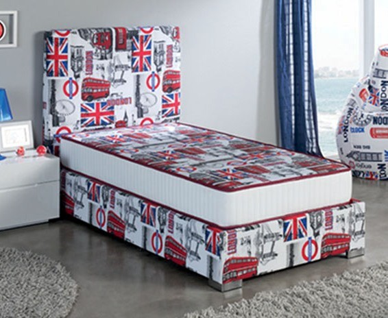 ESF Dupen Spain London Full Storage Panel Bed ESF-i11580
