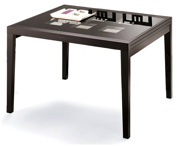 ESF European Poker Wenge Dining Table ESF-i1428
