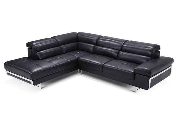 ESF WCH Modern Living 2347 Black Left Facing Sectional ESF-i17276