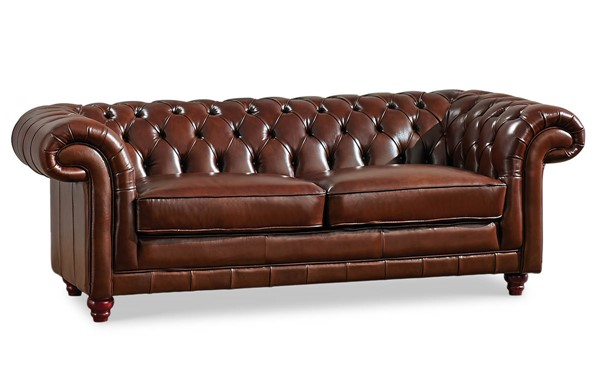 ESF SWH Classic Living 288 Brown Sofa ESF-i17387