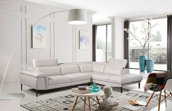 ESF Extravaganza 1511 Off White Right Facing Sectional ESF-i17497