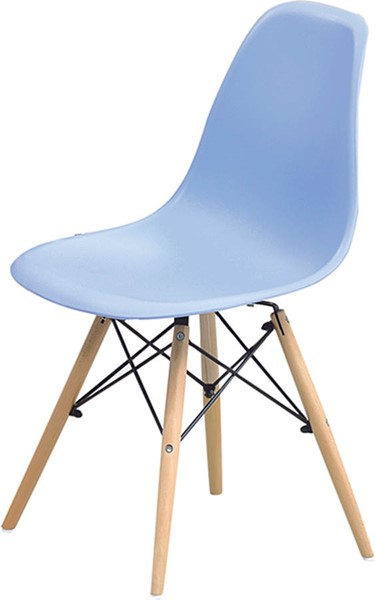 4 ESF Extravaganza 971 Blue Dining Chairs ESF-i17515