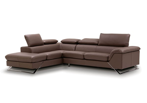 ESF European Caracas Full Leather Left Facing Sectional ESF-i17689