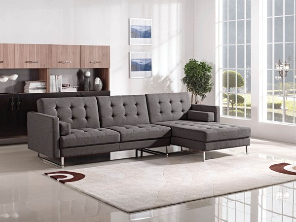 ESF MNG Modern Living 1471 Grey Right Facing Sectional ESF-i17725