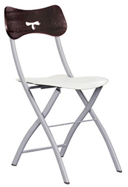 4 ESF Extravaganza 3147 Off White Fabric Dining Chairs ESF-i18623