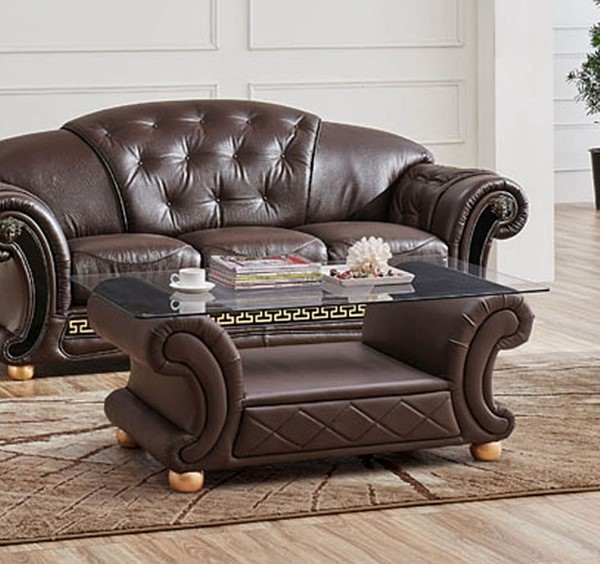ESF SWH Classic Living Apolo Brown Coffee Table ESF-i20859