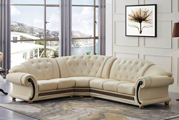 ESF SWH Classic Living Apolo Ivory Left Facing Sectional ESF-i20884