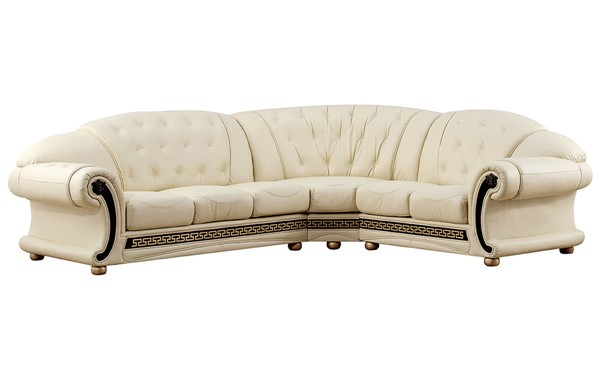 ESF SWH Classic Living Apolo Ivory Right Facing Sectional ESF-i20885