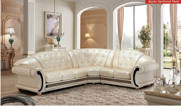 ESF SWH Classic Living Apolo Pearl Right Facing Sectional ESF-i21497