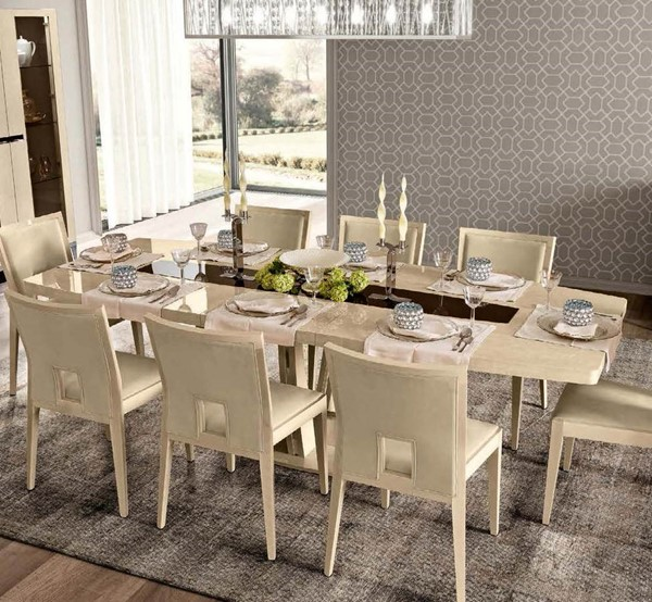 ESF Camelgroup Italy Ambra Wood Dining Table ESF-i21498