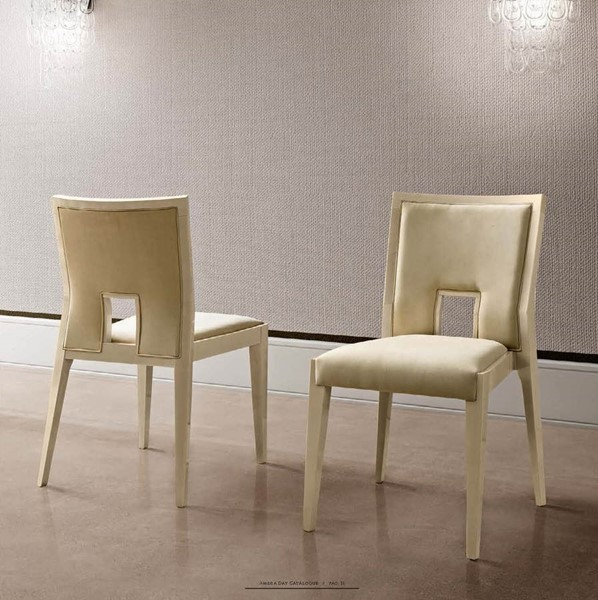 ESF Camelgroup Italy Ambra Fabric Side Chair ESF-i21939