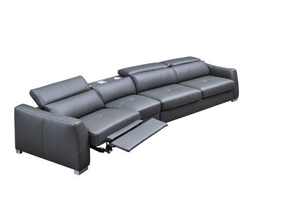 ESF Extravaganza 312 Dark Grey Left Facing Sectional ESF-i21808