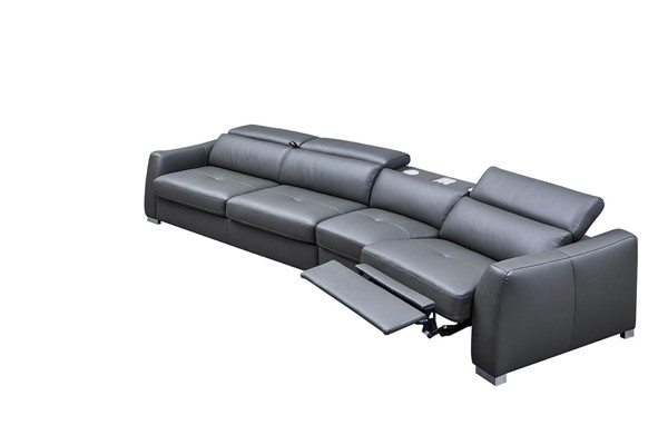 ESF Extravaganza 312 Dark Grey Right Facing Sectional ESF-i21809