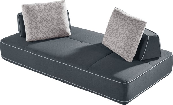 ESF MNG Modern Living Blackberry Grey Sofa Sectional ESF-i21815