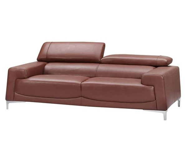 ESF WCH Modern Living 2537 Saddle Brown Sofa ESF-i21827