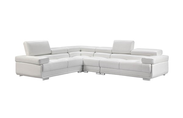 ESF WCH Modern Living 2119 White Left and Right Sectional ESF-i21830