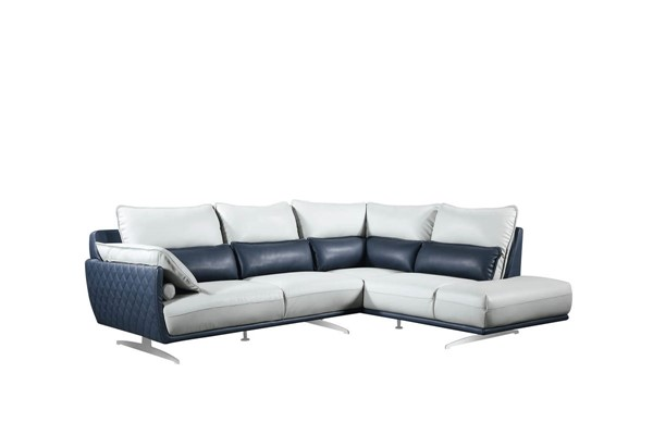 ESF Extravaganza 6311 Light Grey Right Facing Sectional ESF-i21867