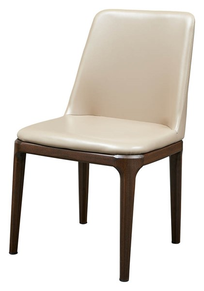 2 ESF Extravaganza 1638 Walnut Wood Dining Chairs ESF-i21842
