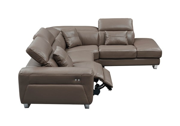 ESF Extravaganza 468 Brown Left Facing Sectional ESF-i21937