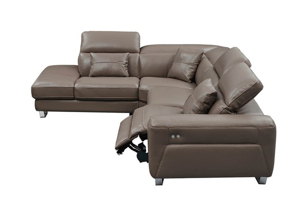 ESF Extravaganza 468 Brown Right Facing Sectional ESF-i21938