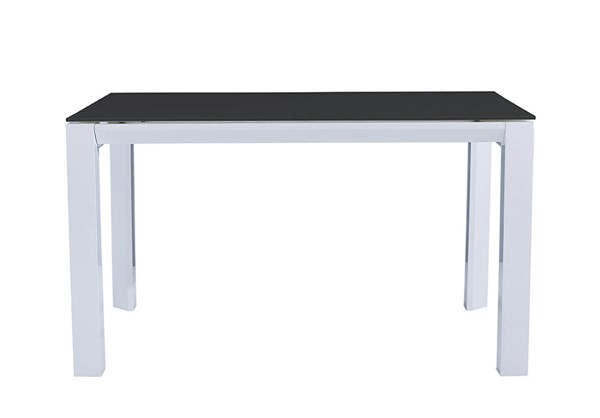 ESF Extravaganza 39 White Black Dining Table ESF-i22233
