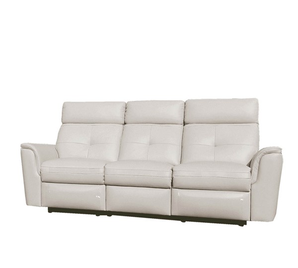 ESF Extravaganza 8501 White Leather Recliner Sofa ESF-i22397
