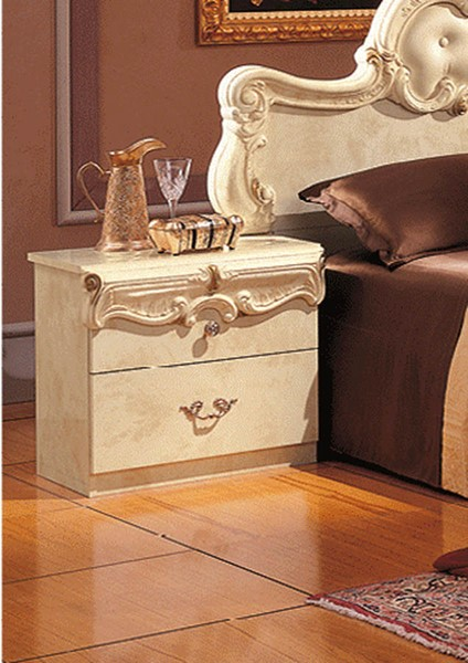 Esf Camelgroup Italy Barocco Ivory Night Stand The