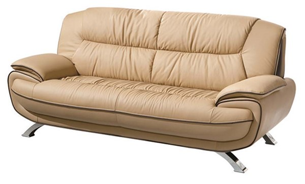 ESF RXN Classic Living 405 Brown Leather Sofa ESF-i900