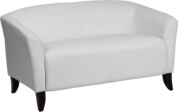 Flash Furniture Hercules Imperial White Loveseat FLF-111-2-WH-GG