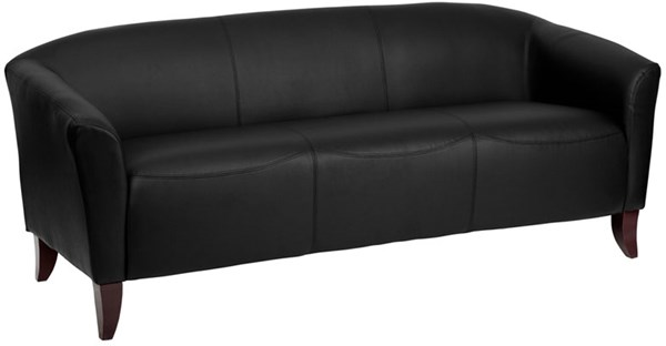 Hercules Imperial Series Contemporary Leather Wood Leather Sofa FLF-111-sofa