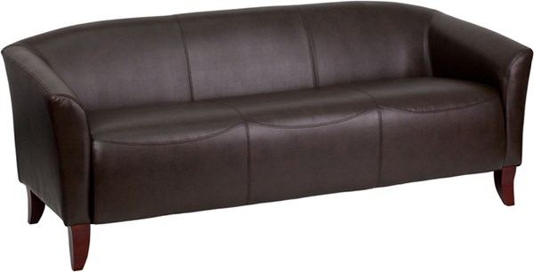 Flash Furniture Hercules Imperial Brown Sofa FLF-111-3-BN-GG