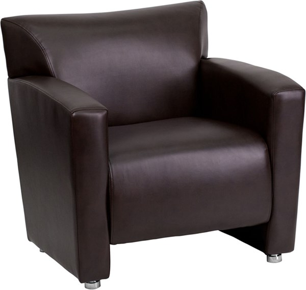 Flash Furniture Hercules Majesty Brown Chair FLF-222-1-BN-GG