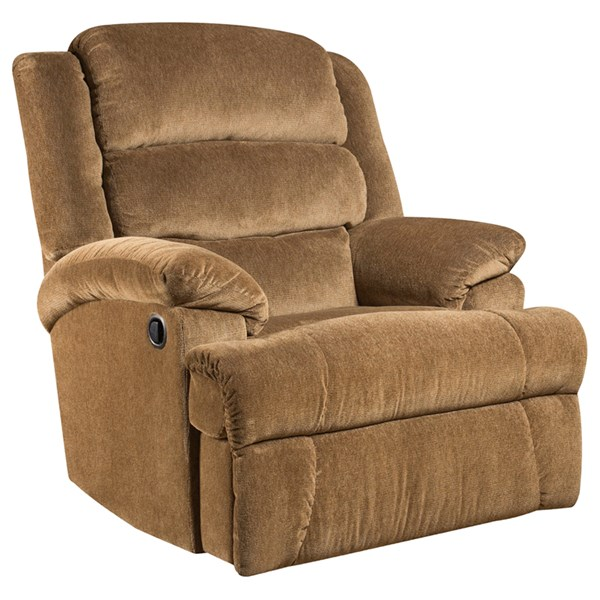 Aynsley Amber Microfiber Wood Big and Tall Recliner FLF-AM-9960-7920-GG