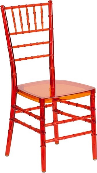 Traditional Red Plastic Flash Crystal Crimson Stacking Chiavari Chair FLF-BH-CRIM-CRYSTAL-GG