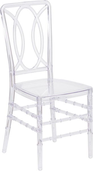 Flash Furniture Elegance Contemporary Crystal Ice Stacking Chair FLF-BH-H007-CRYSTAL-GG