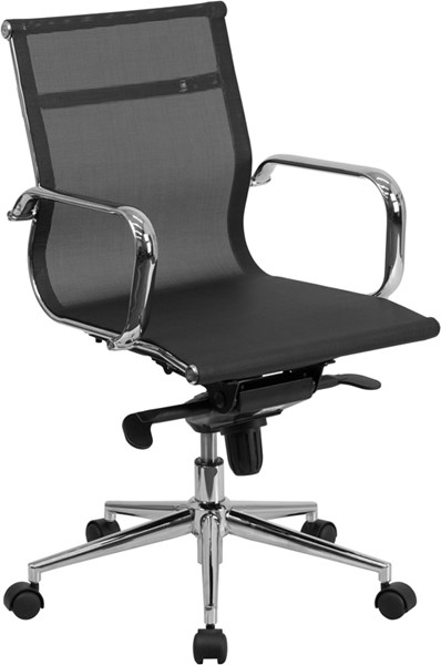 Flash Furniture Black Mesh Executive Swivel Office Chair FLF-BT-2768M-GG