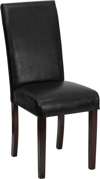 Flash Furniture Leather Upholstered Parsons Chairs FLF-BT-350-LEA-GG-VAR