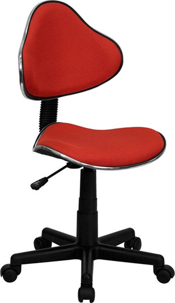 Flash Furniture Red Fabric Ergonomic Task Chair FLF-BT-699-RED-GG