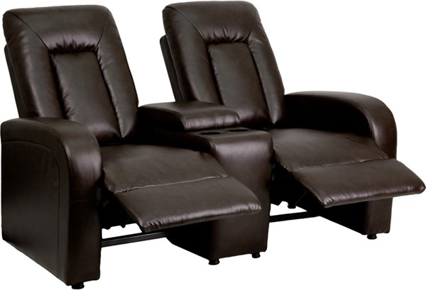 Flash Furniture Eclipse 2 Seat Reclining Theater Seating Units FLF-BT-70259-2-GG-SF-VAR