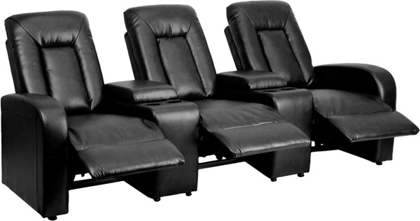 Flash Furniture Eclipse 3 Seat Reclining Theater Seating Units FLF-BT-70259-3-GG-SF-VAR