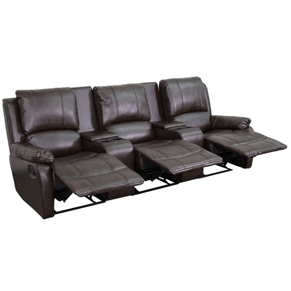Flash Furniture Allure 3 Seat Home Theater Recliners FLF-BT-70295-3-GG-SF-VAR